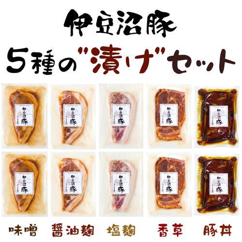 5種の漬けセット