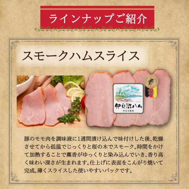 IFFA金賞スモークハムスライス