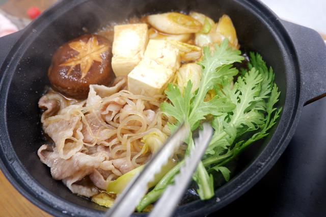 【くんぺるランチ便】特製割下で作る赤豚すき焼き!