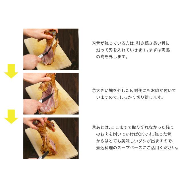 げんこつハム切り方3