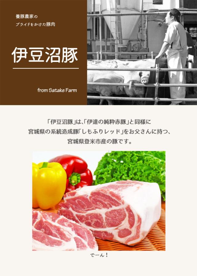伊豆沼豚LP1