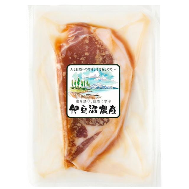伊豆沼豚ロース醤油麹漬け【冷凍】