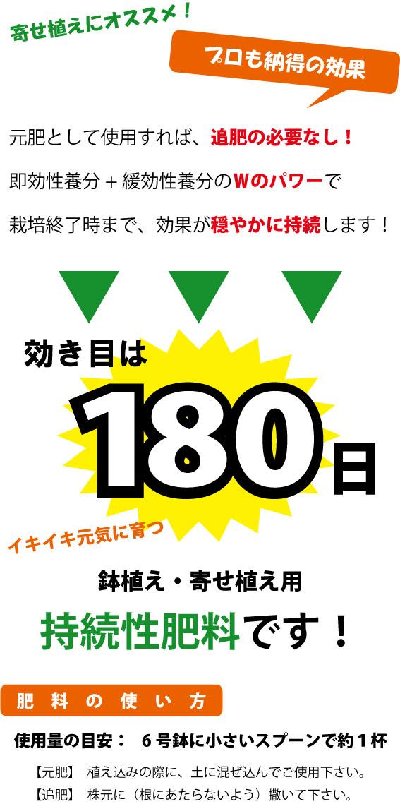 180日肥料 ベストマッチ