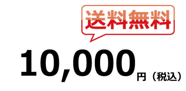 送料無料 10000円