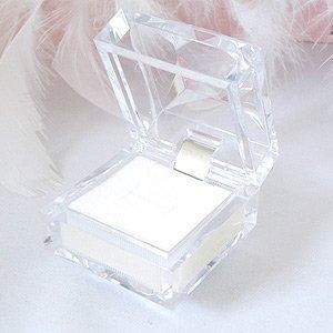 ジュエリーケース 氷のような キレイな 透明 ネックレス リング ピアス用 1個単位の販売
