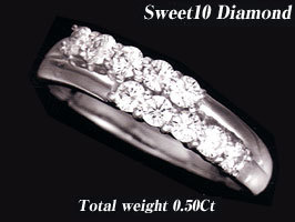 [WMDM-8B]スウィート10ダイヤモンド【スイートテンプラチナリング】