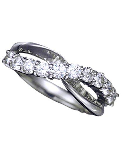 【送料無料】【当店一番人気】ダイヤモンドの輝きがキレイな指輪 プラチナリング[jka0168]