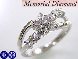 [WMDM-9A]スウィート10ダイヤモンド【スイートテンプラチナリング】