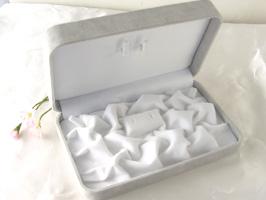 真珠(パール)ネックレス&ピアス用ジュエリーケース[安心して保管]☆    [k060005]