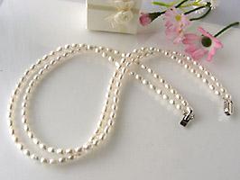 淡水真珠(パール)デザインネックレス