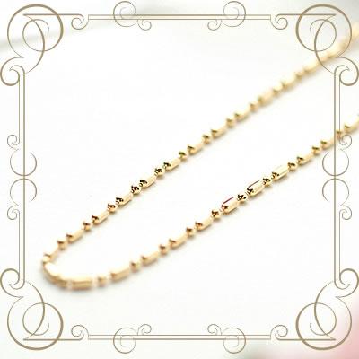 ロングサイズ ネックレス K18