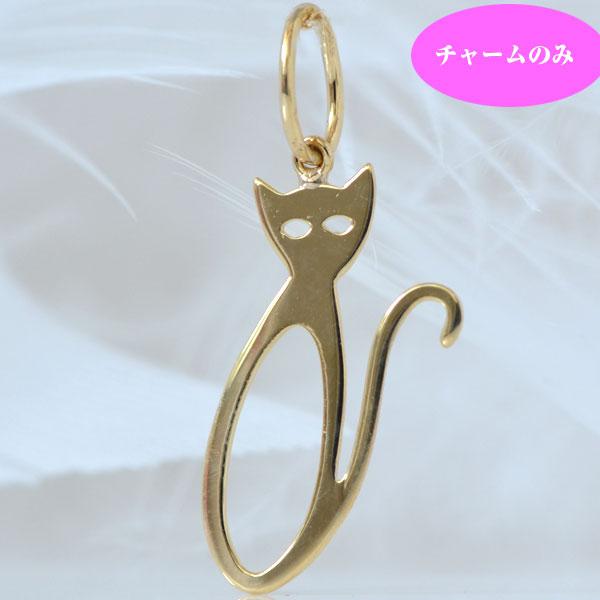 ネコちゃんペンダント K18 18金