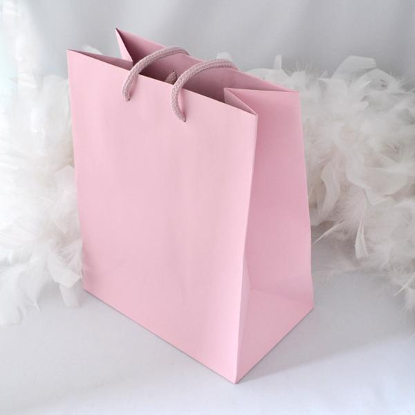 手提袋 優しいピンク 手提げ紙袋 紙袋 手提げバック