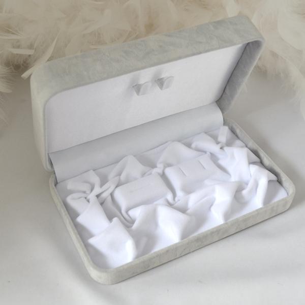 真珠 パール ネックレス 3点セット高級ジュエリーケース [ピアス ネックレス 指輪]
