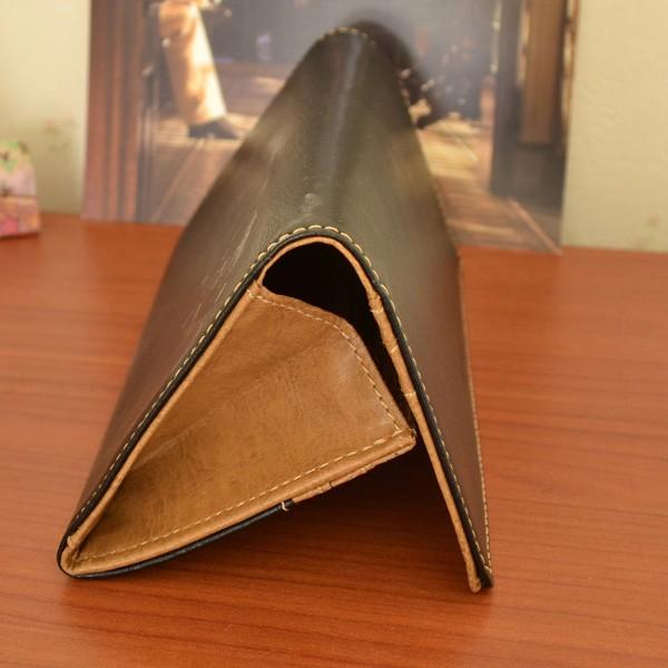 f0edfee5379a 父の日 ギフト 落ち着いた色合い 財布 メンズ 長財布 (黒)&和菓子風 ハンカチ セット ラッピング済 (お父さんありがとう カード付)