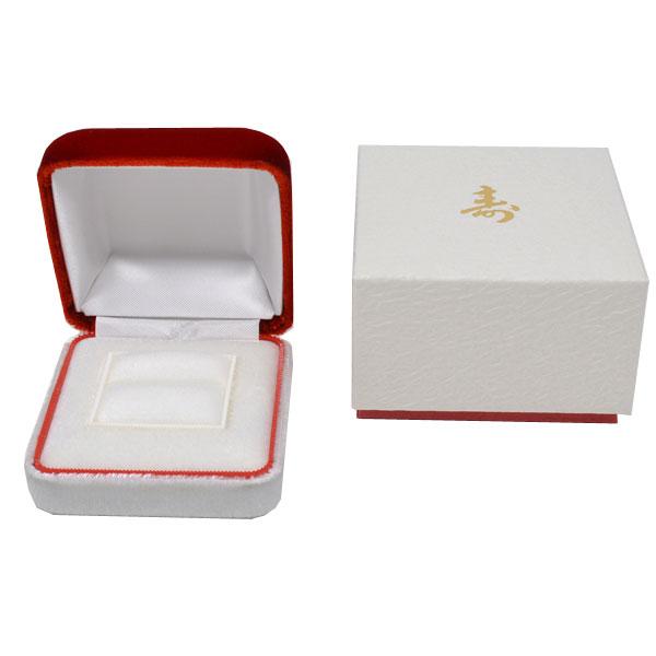 寿 ケース 結婚指輪 婚約指輪 結納 指輪 ケース ジュエリーケース 外箱付 ことぶき y160519