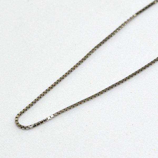 スライド ベネチアン ネックレス チェーン PT 45cm 彼女 誕生日 ジュエリー アクセサリー y170147