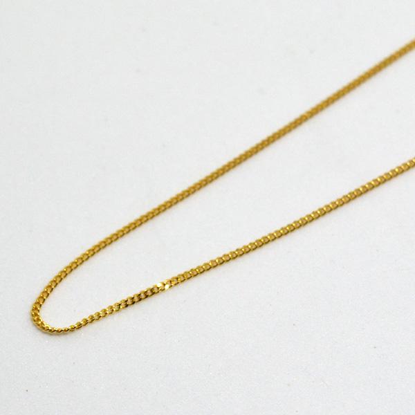 喜平 ネックレス チェーン K18 45cm 彼女 誕生日 ジュエリー アクセサリー y170148