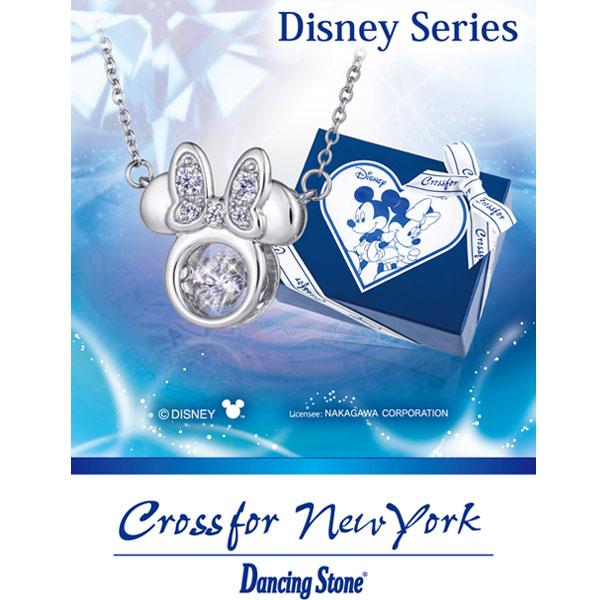 ダンシングストーン クロスフォーニューヨーク ディズニーコレクション ミニー ネックレス Dancing Stone / Disney Minnie NDP-004
