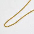 喜平 ネックレス チェーン K18 50cm 彼女 誕生日 ジュエリー アクセサリー y170149