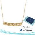 ネックレス K10 ファイテン fe-fe phiten フェフェ FPJ-04 y190434