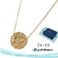 ネックレス K10 ファイテン fe-fe phiten フェフェ FPJ-06 y190436