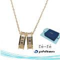 ネックレス K10 ファイテン fe-fe phiten フェフェ FPJ-08 y190438