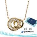ネックレス K10 ファイテン fe-fe phiten フェフェ FPJ-10 y190440