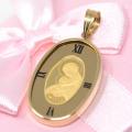 コイン 聖母 マリア 24金 K24 純金 枠18金 K18 メンズ ゴールド 男性 プレゼント ギフト y200544