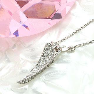 2007年日本ベストジュエリードレッサー賞ダイヤモンドデザインネックレス[y070058]