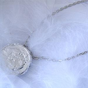プラチナデザインネックレス 約50センチ y080071