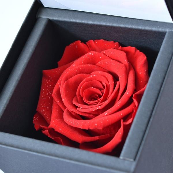赤い薔薇 プリザーブドフラワー ダイヤモンドローズ y160355
