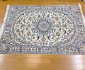 ナイン産手織りペルシャ絨毯 naein2417/99153