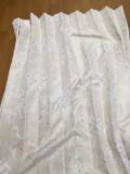 特許ホック式ジャガード織遮光カーテン260cm2枚組