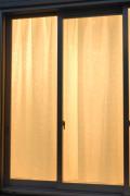 2020ホック式2重ボイルレースカーテン176cm2枚組