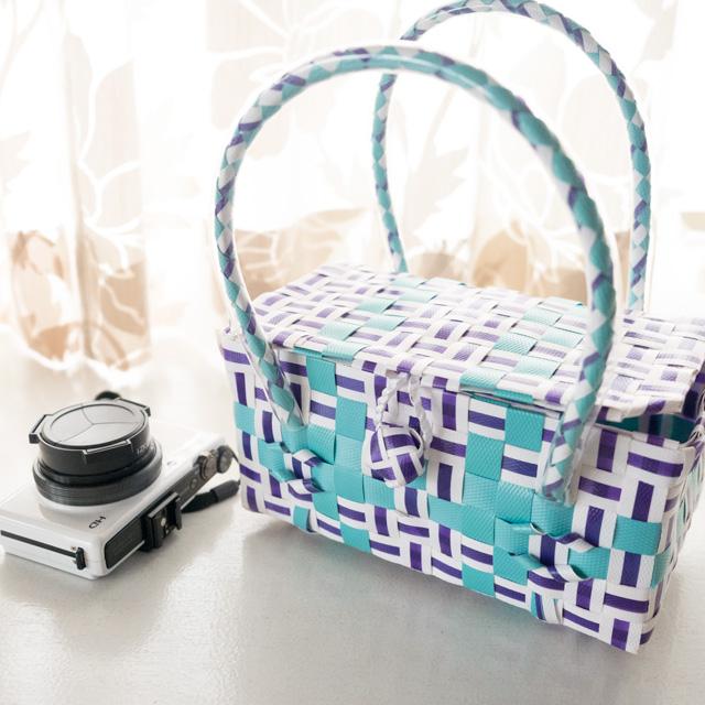 BOX型のプラカゴ 道具箱 ミニサイズ