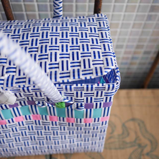 箱型、手さげBOX型のプラかご