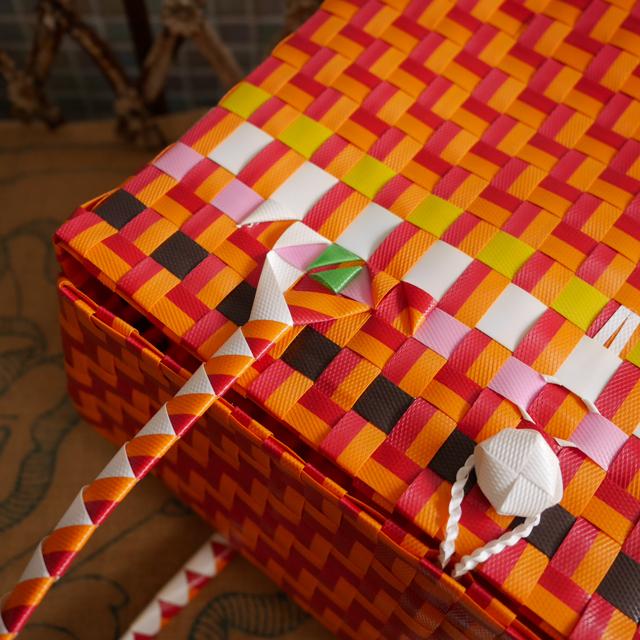 BOX型のプラかご