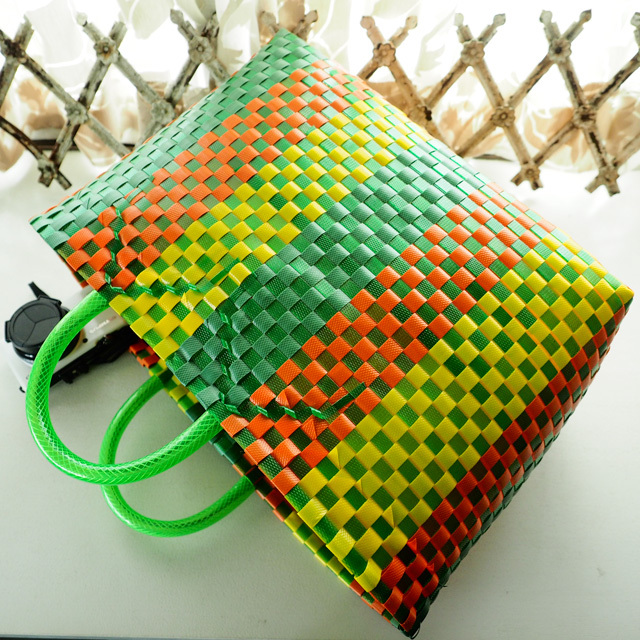 ベトナムの市場かご、ガーデニングバッグ
