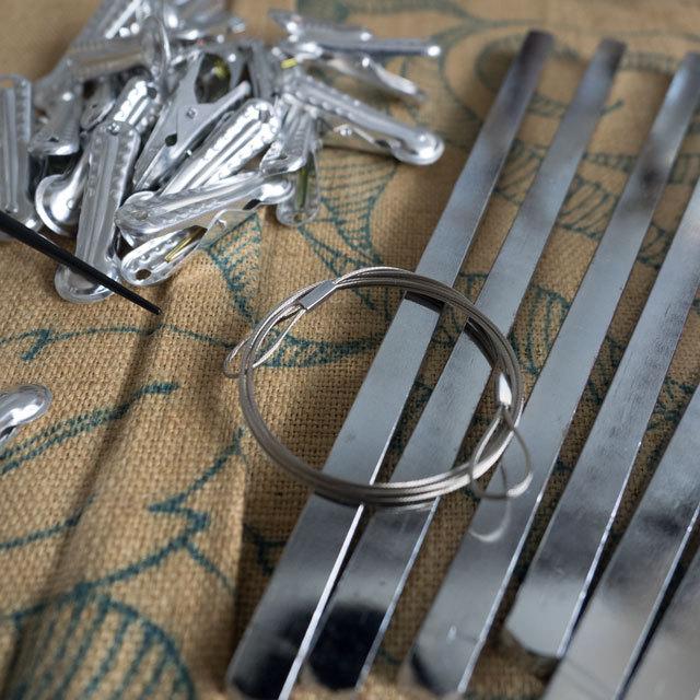 プラかご作りのための材料セット