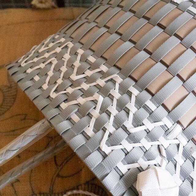 ベトナム製プラPPかご