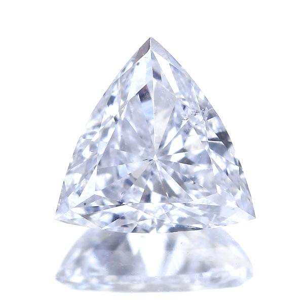 0.343ct D SI-1 トリリアントカット ダイヤモンド ルース※中央宝石研究所ソーティングシート付き
