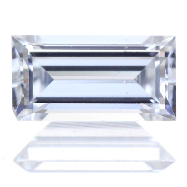 0.404ct I SI-1 エメラルドカット ダイヤモンドルース※中央宝石研究所ソーティングシート付き