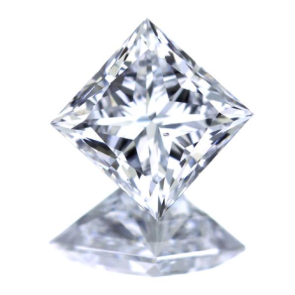 1.055ct D VS2 プリンセスカット ダイヤモンド