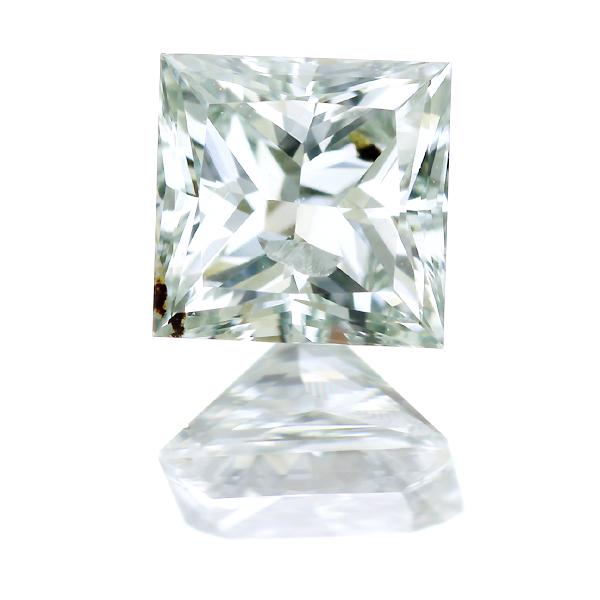 LIGHT GREEN I1 グリーンダイヤモンド 0.496ct