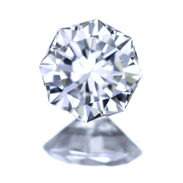 [決算セール目玉☆大幅値下げ!※他割引対象外・ポイント利用不可]G VS1 オクタゴンカット ダイヤモンド 0.319ct