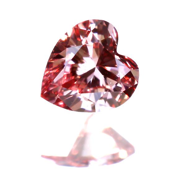 0.063ct Fancy Intense Pink SI-1 ダイヤモンド ルース