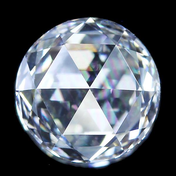 0.84ct F VVS2 ローズカットダイヤモンド 【6月13日22時販売開始】
