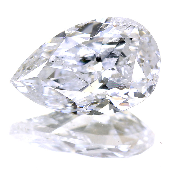1.003ct H I1 ペアシェイプ ダイヤモンドルース※中央宝石研究所ソーティングシート付