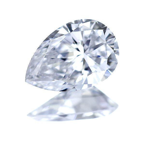 0.334ct E VVS-1ペアシェイプ ダイヤモンド